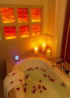 candlelit bath | 365 Days of Inspiration