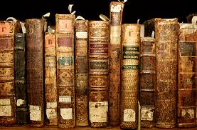 old antique books worn used gently loved